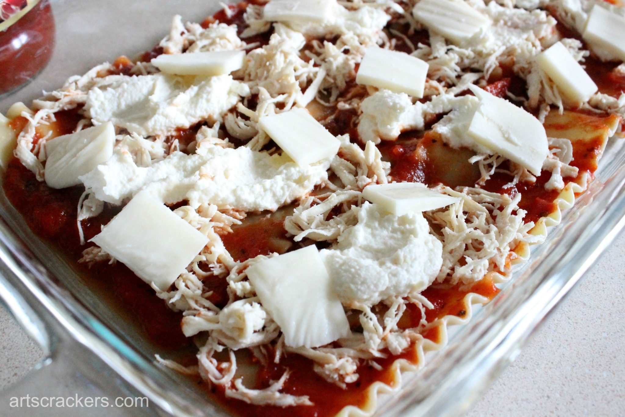 Chicken Parm Lasagna Step 5