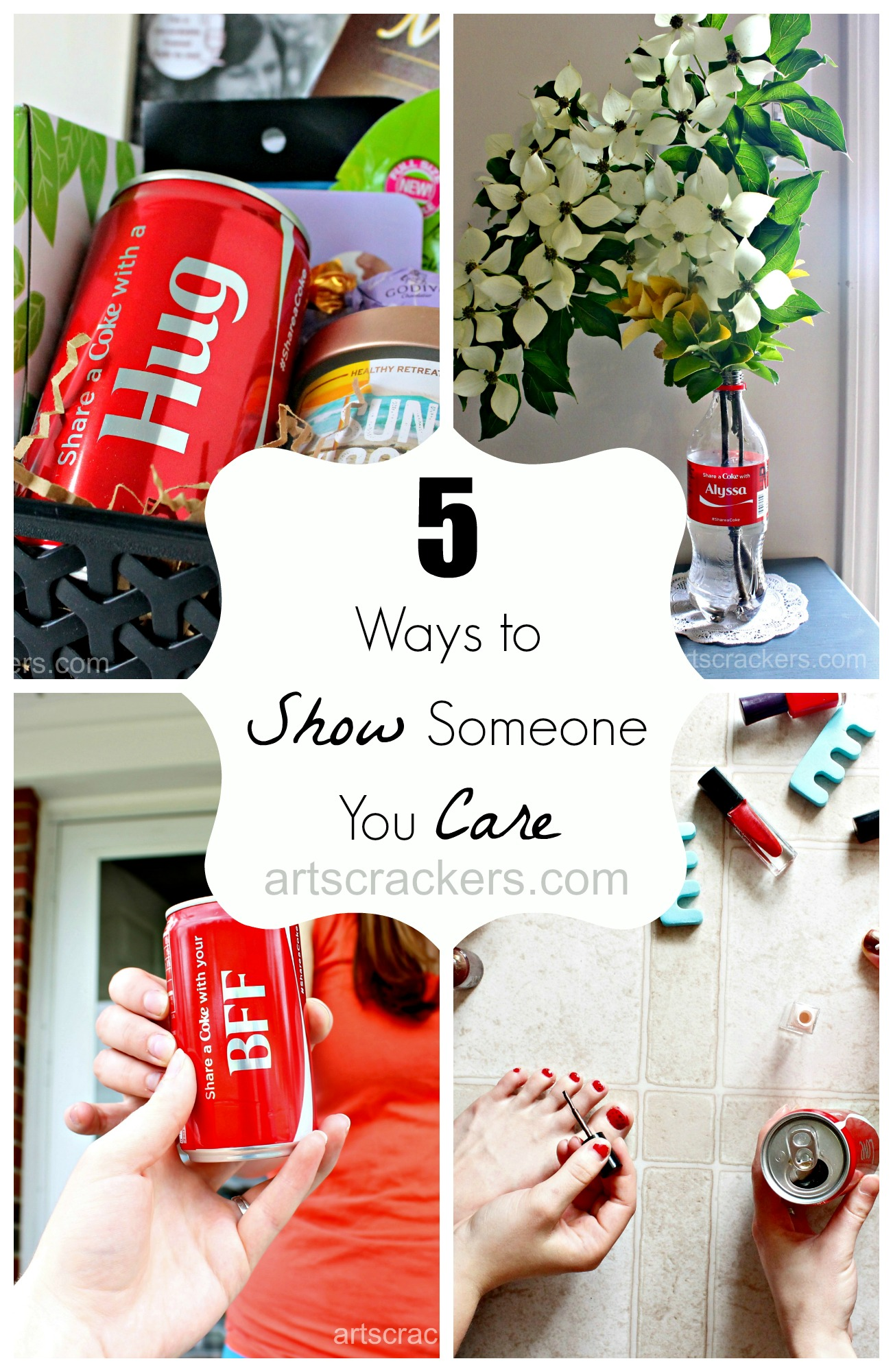 Coca-Cola 5 Ways to Show Someone You Care. Click the picture to read more.