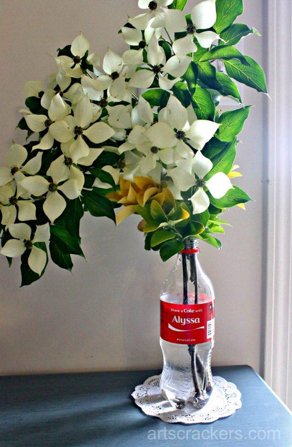 Coca-Cola Flower Vase
