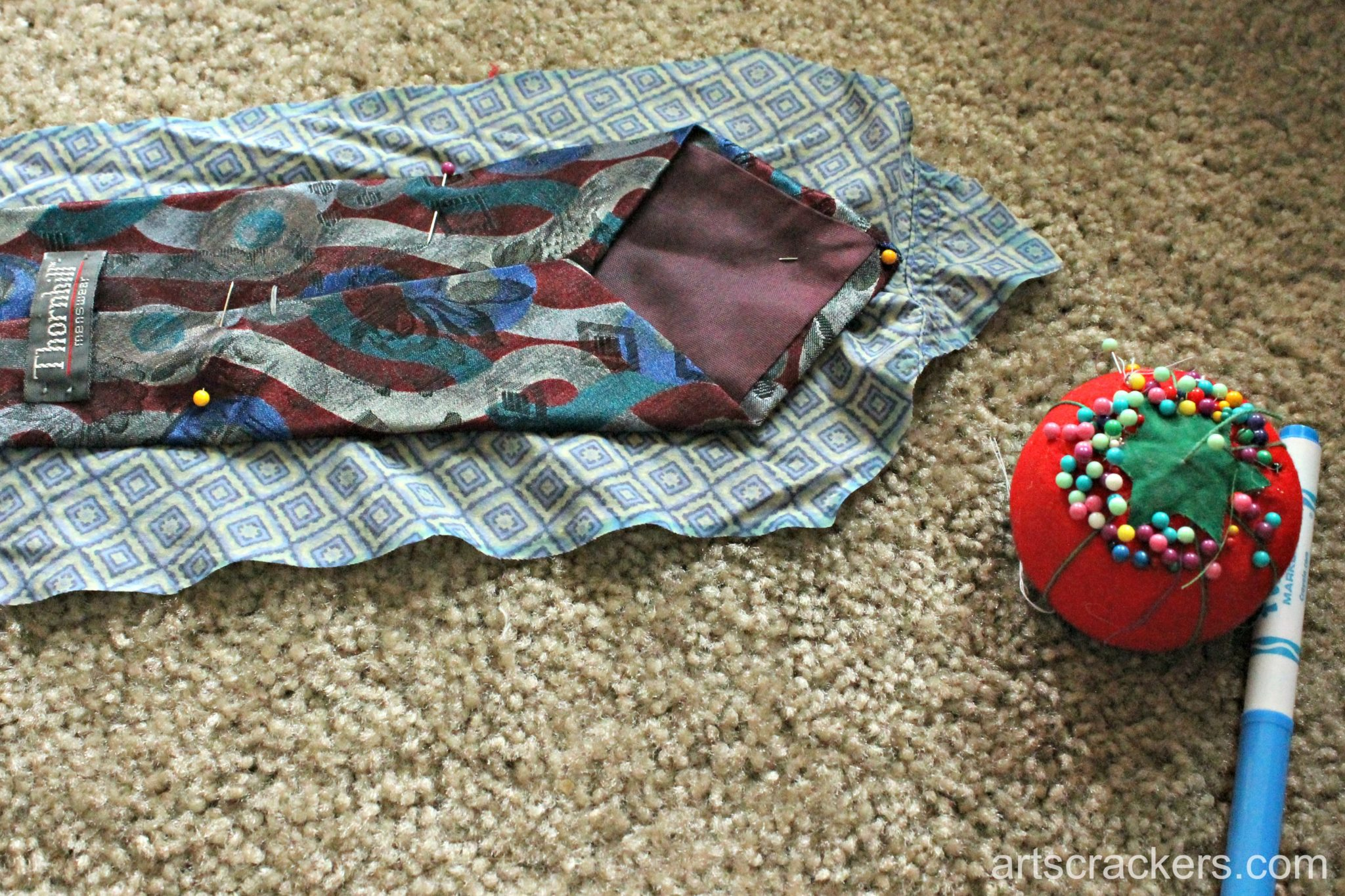 Fathers Day Necktie Step 4