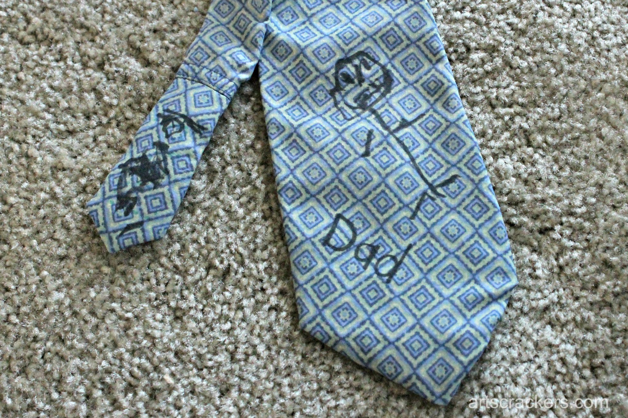 Fathers Day Necktie Step 9