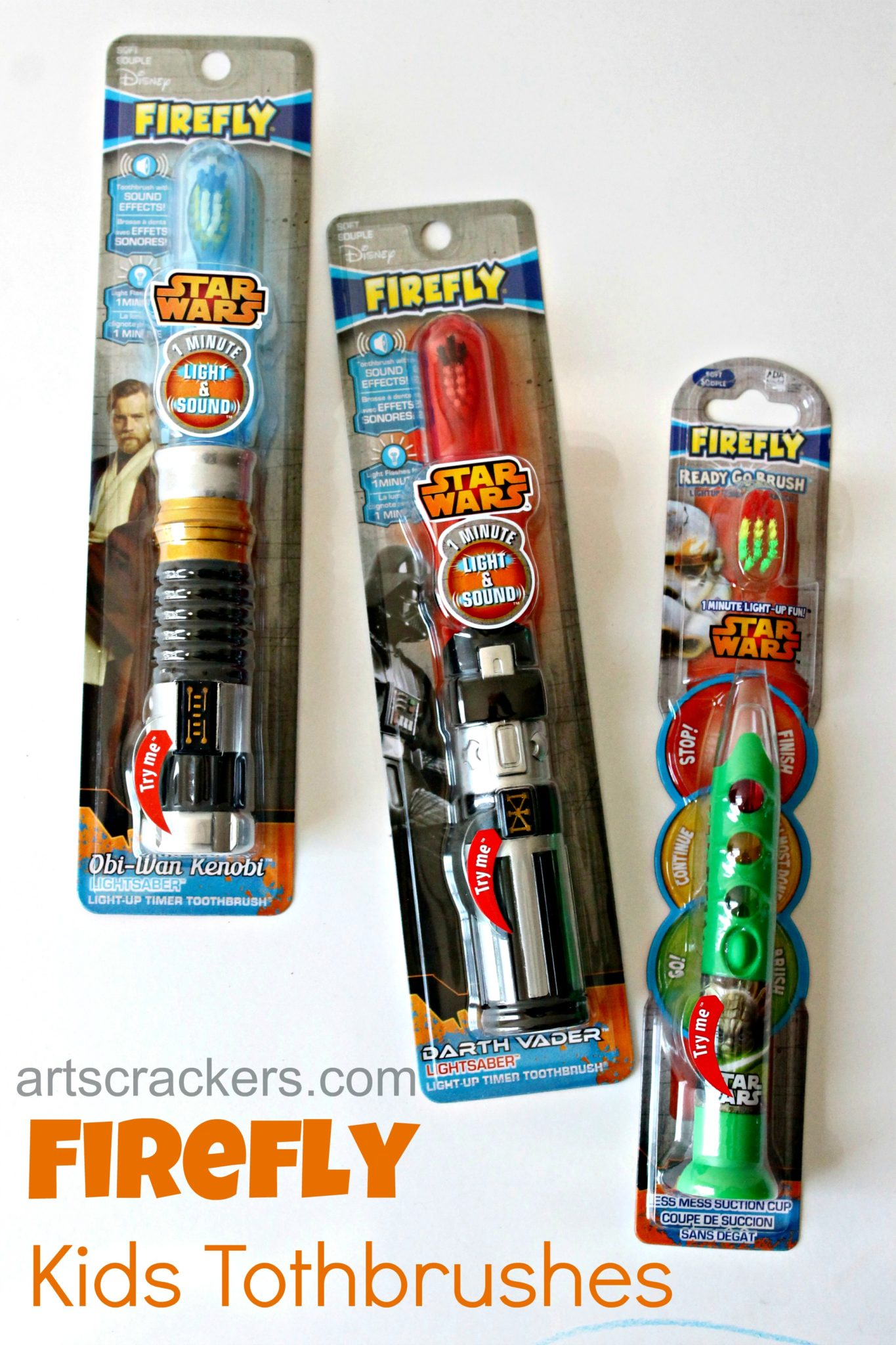 Firefly Kids Toothbrushes. Click the picture to read the review.