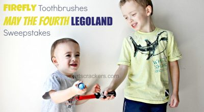 Firefly Toothbrushes May the Fourth LEGOLAND Sweepstakes. Click the picture to enter.