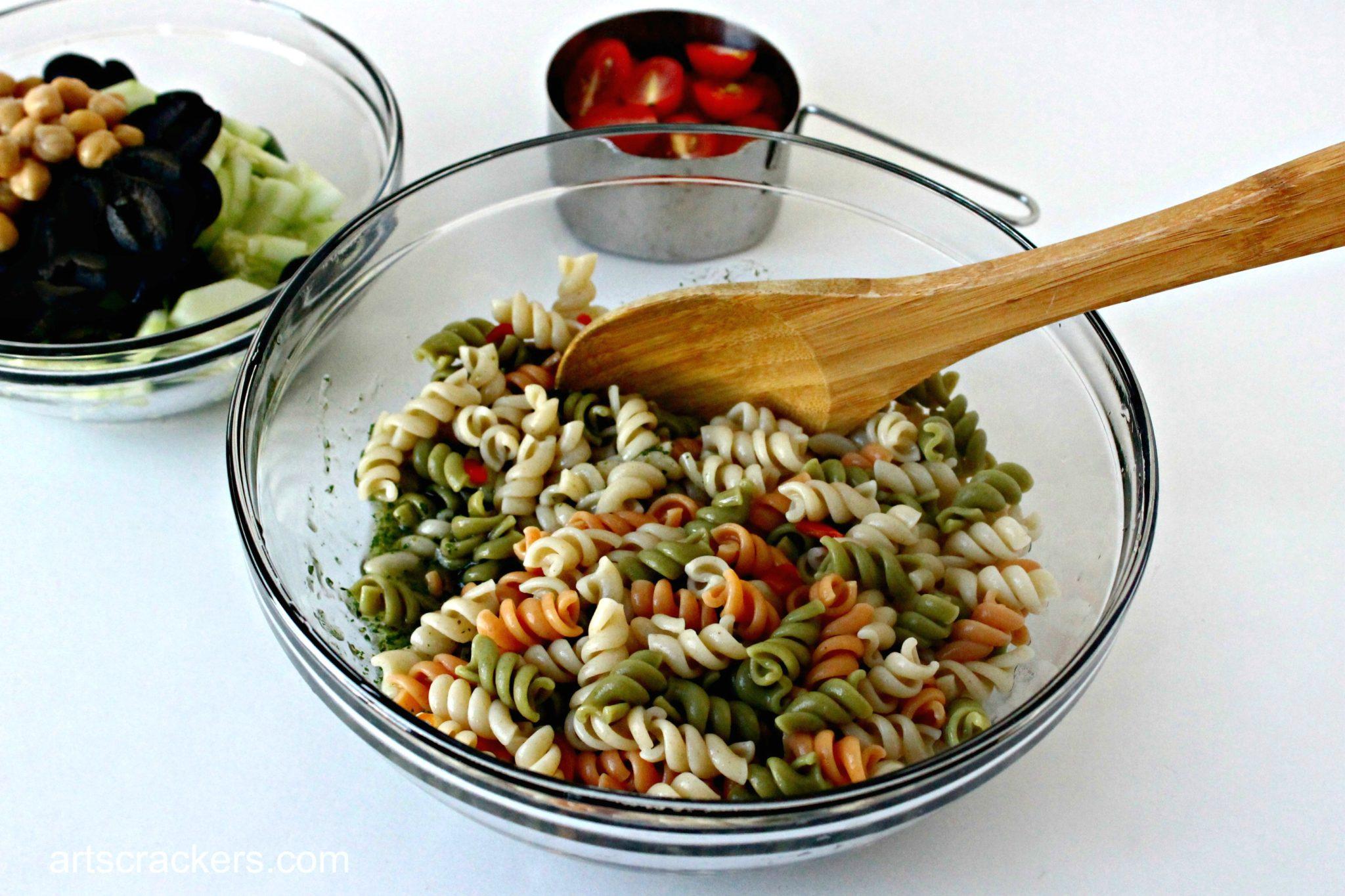 Garden Fresh Pasta Salad with Suddenly Salad Recipe