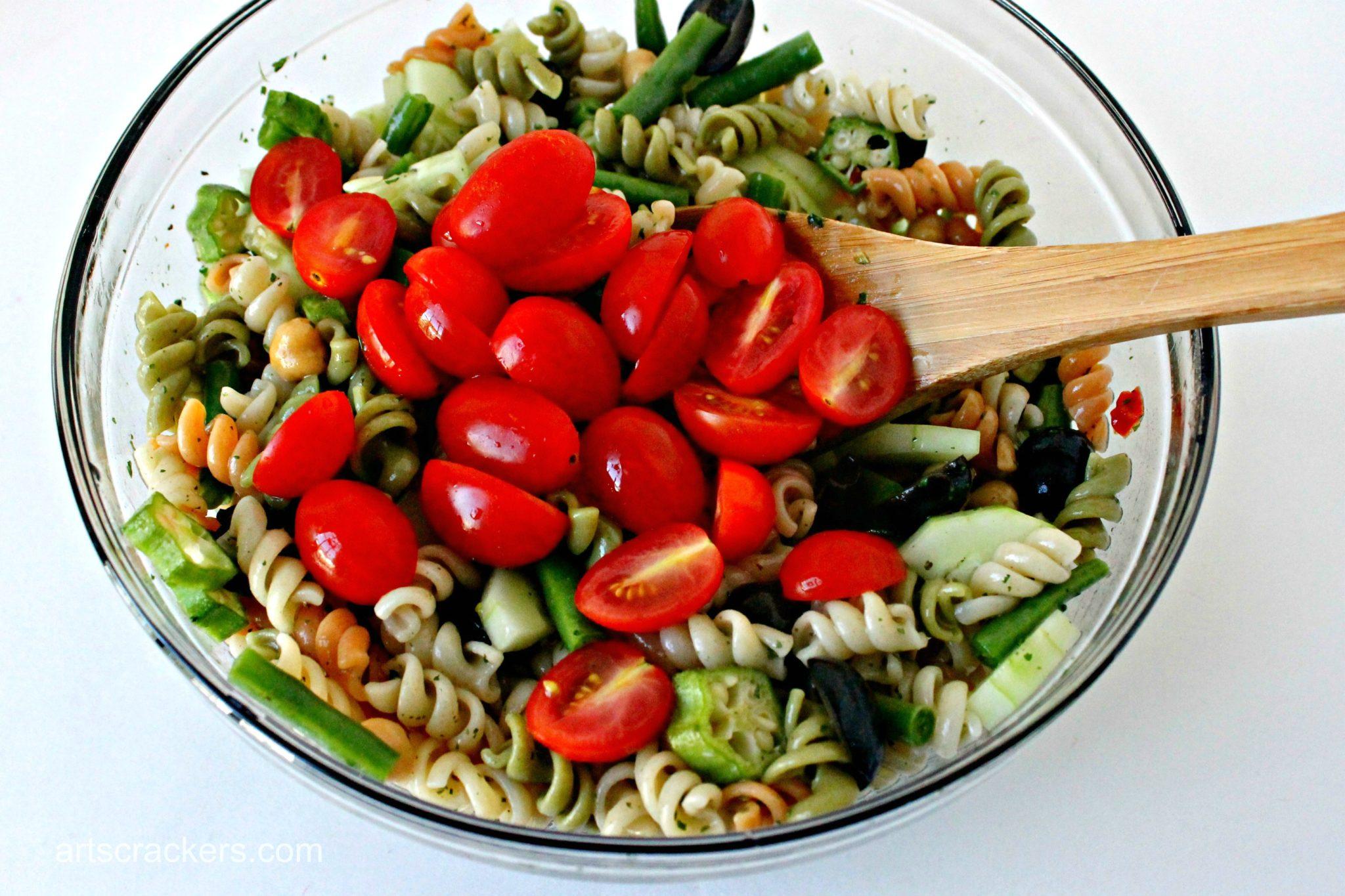 Garden Fresh Pasta Salad Step 6