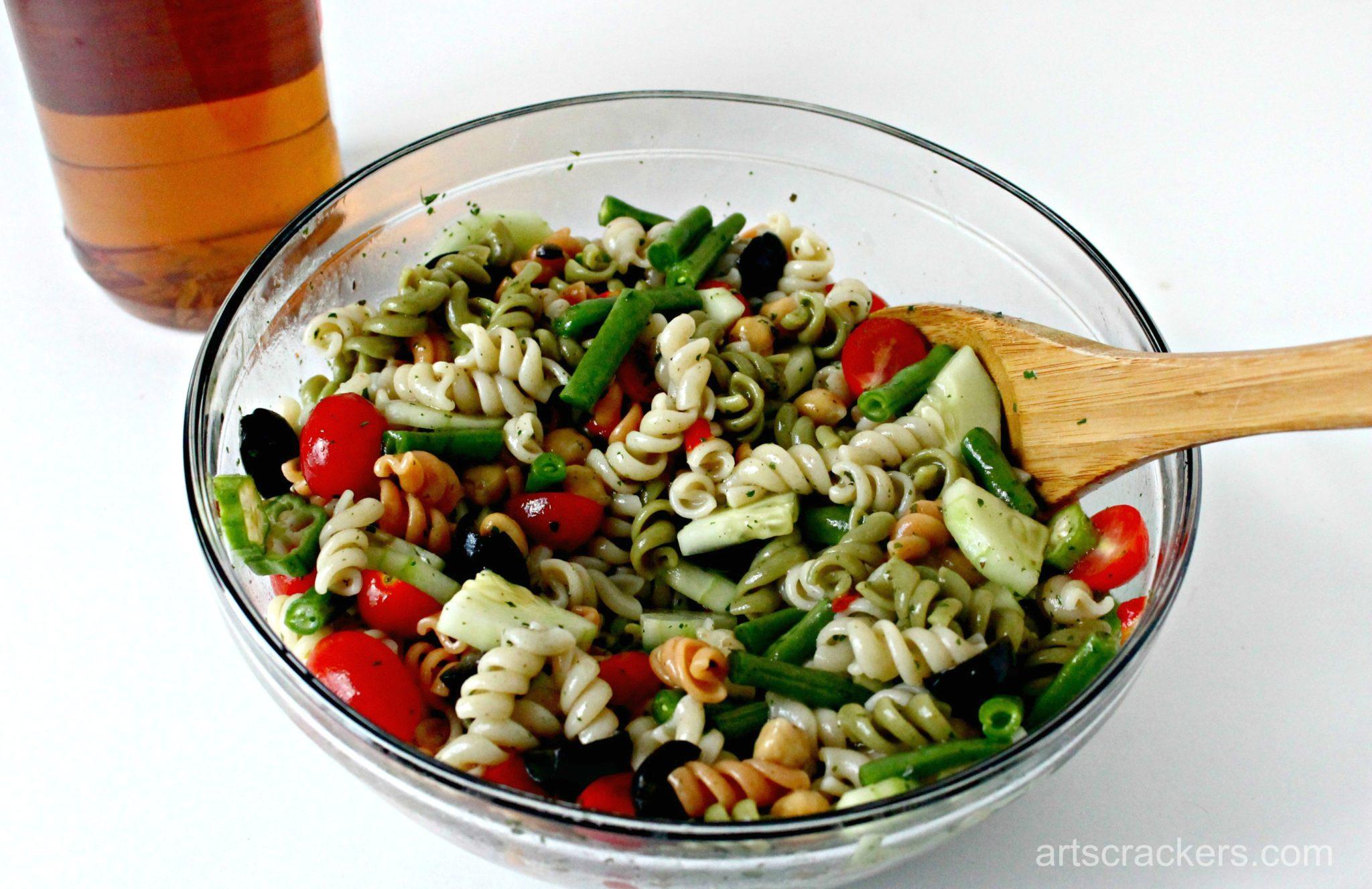 Garden Fresh Pasta Salad Step 7