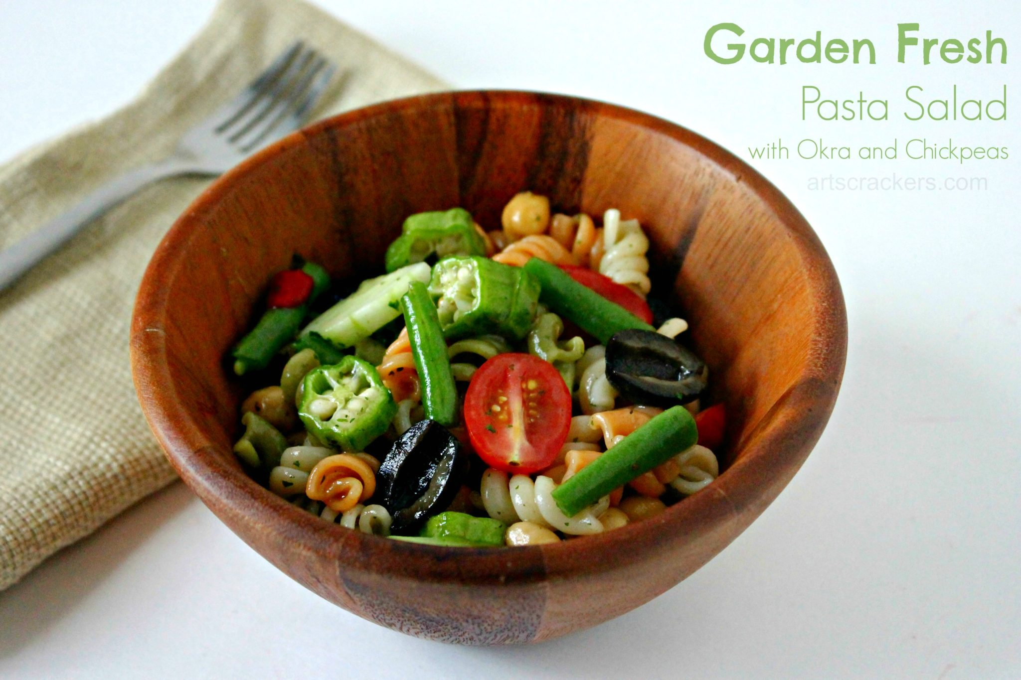 Garden Fresh Pasta Salad. Click the picture for the recipe.