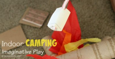 Indoor Camping Imaginative Play. Click the picture to read more.