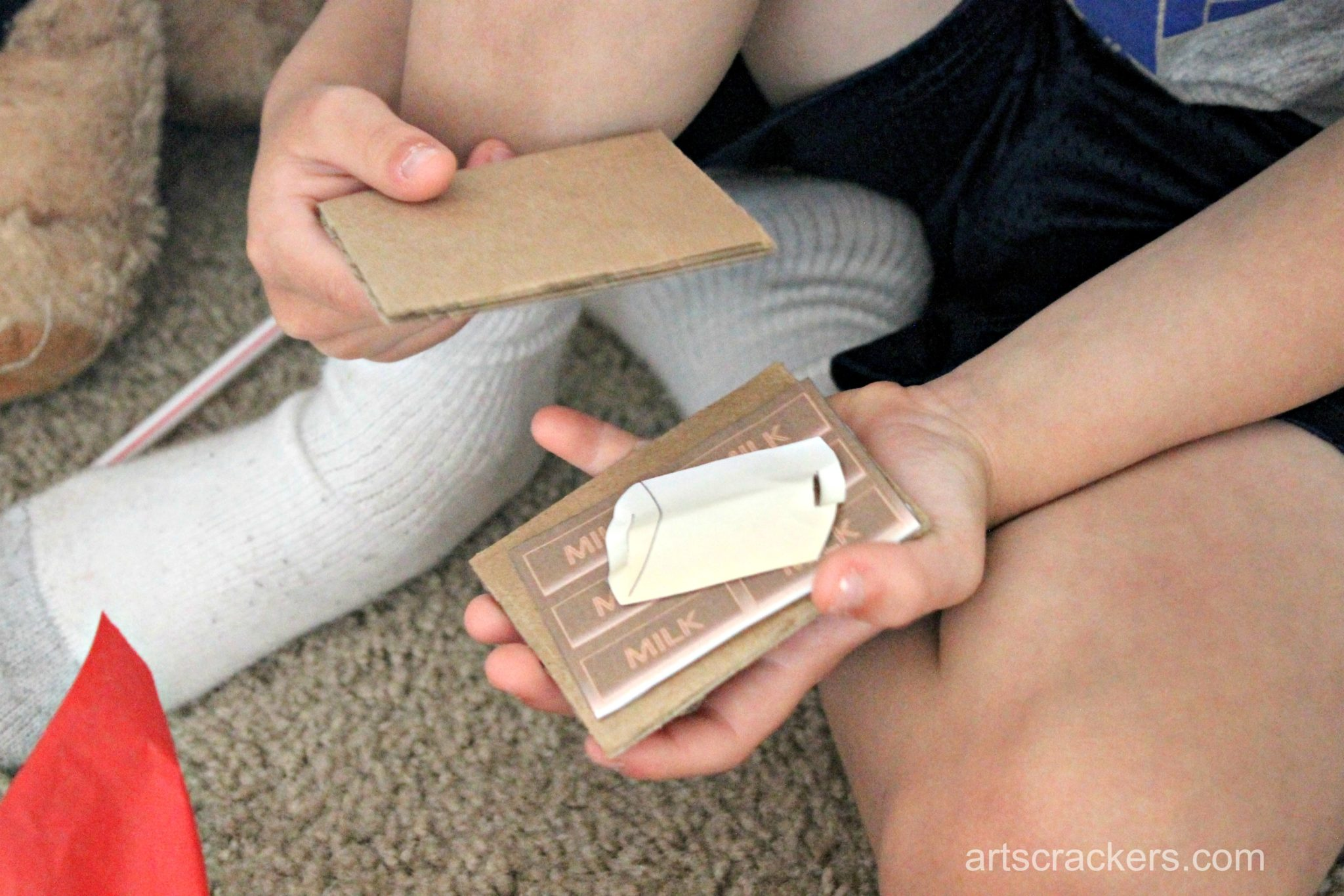 Indoor Camping Imaginative Play Smores