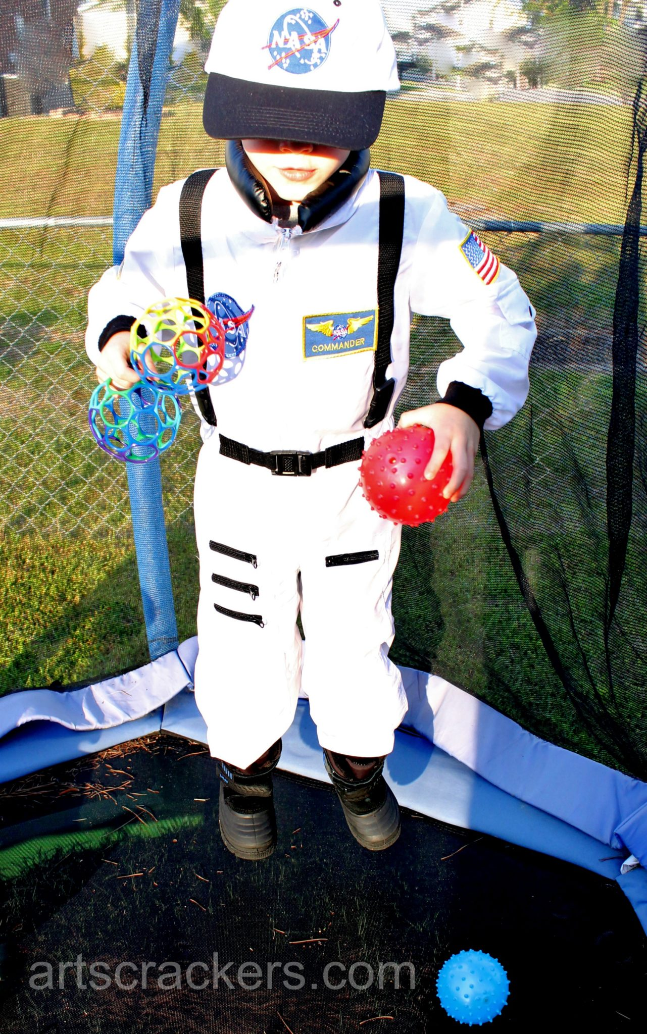 Jr Astronaut Costume On the Moon. Click the picture to read the review.