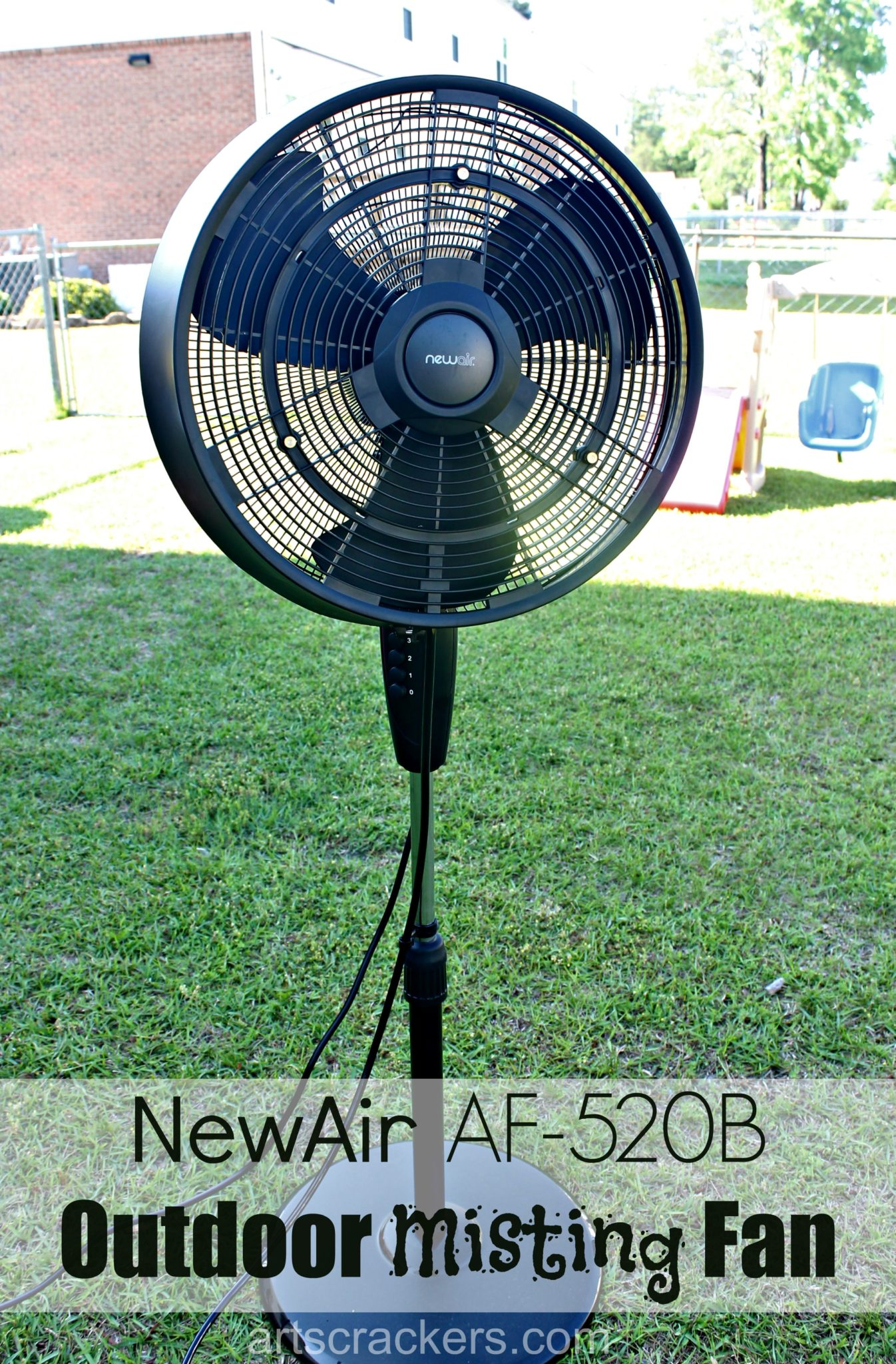 NewAir AF-520B Outdoor Misting Fan. Click the picture to read the review.