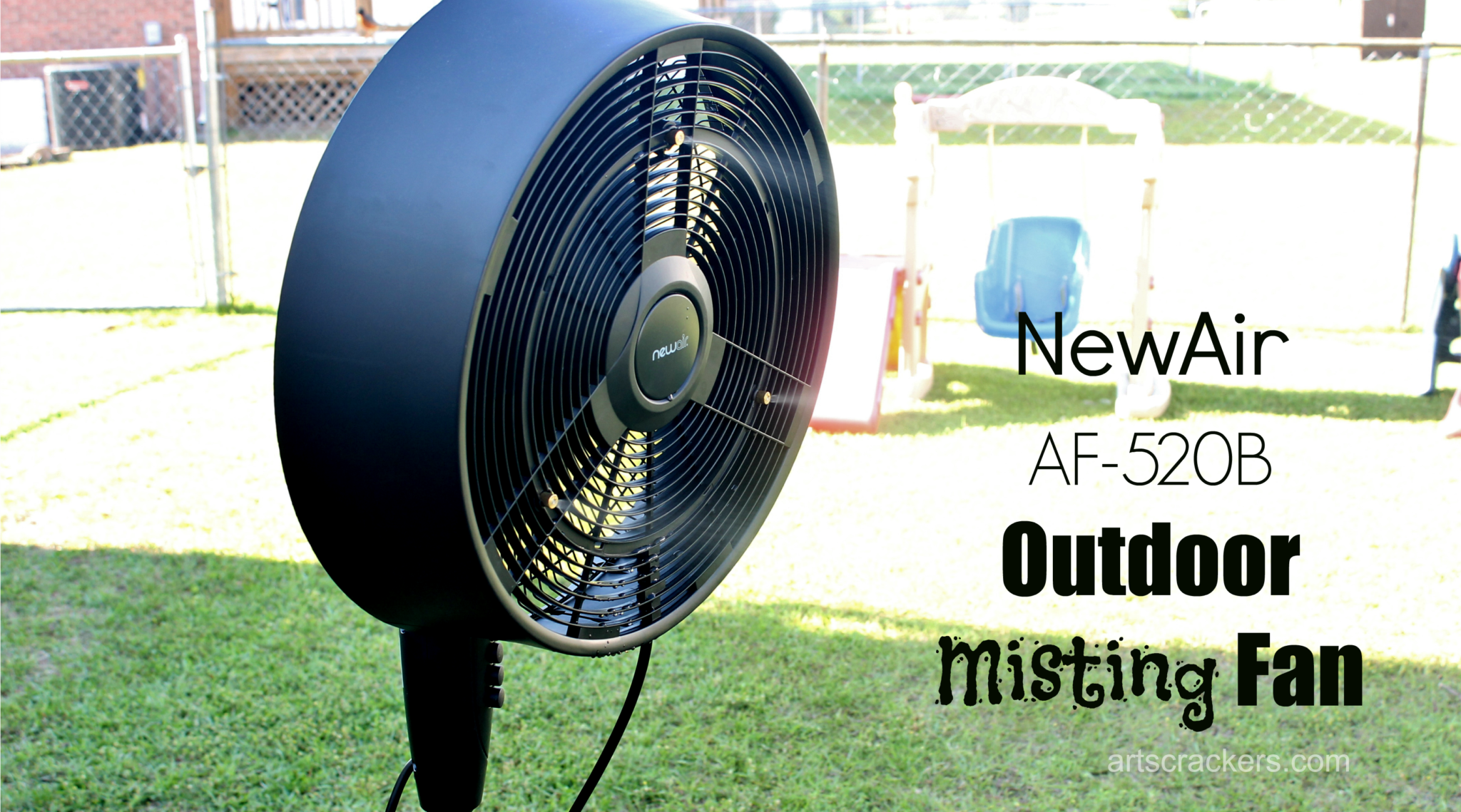 NewAir Outdoor Misting Fan. Click the picture to read the review.