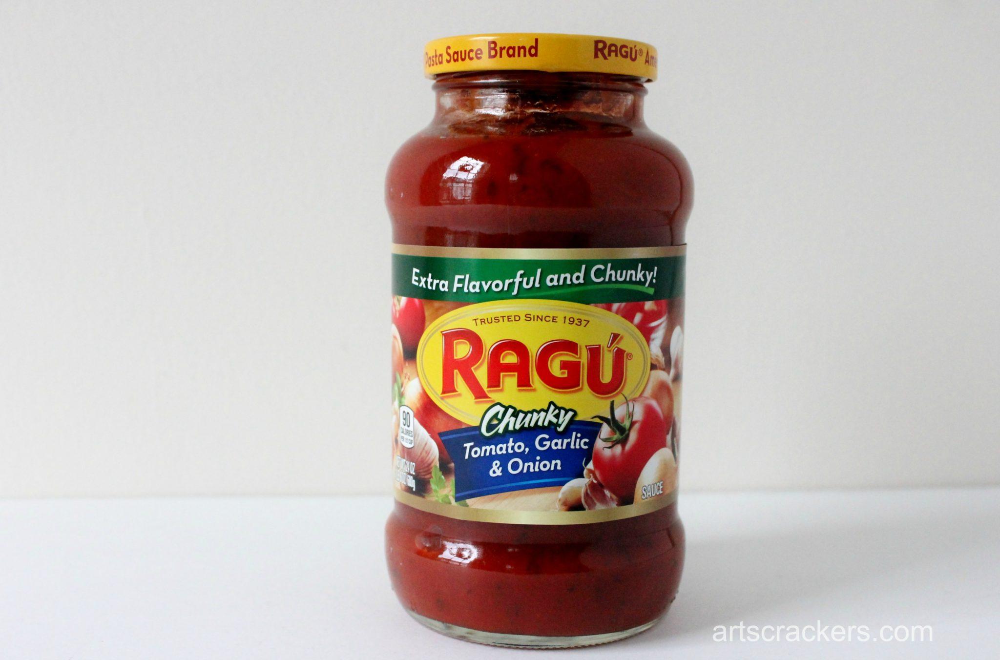 Ragu Pasta Sauce Tomato Garlic Onion