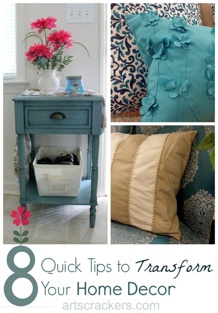 Renuzit and Homegoods 8 Quick Tips to Transform Your Home Decor. Click here to read more.