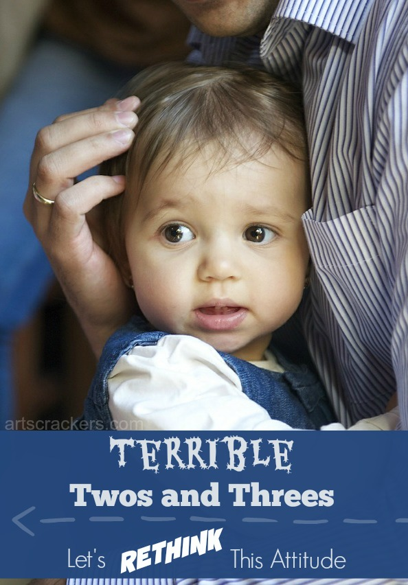 Terrible Twos and Threes-Lets Rethink This Attitude. Click the picture to read the article.