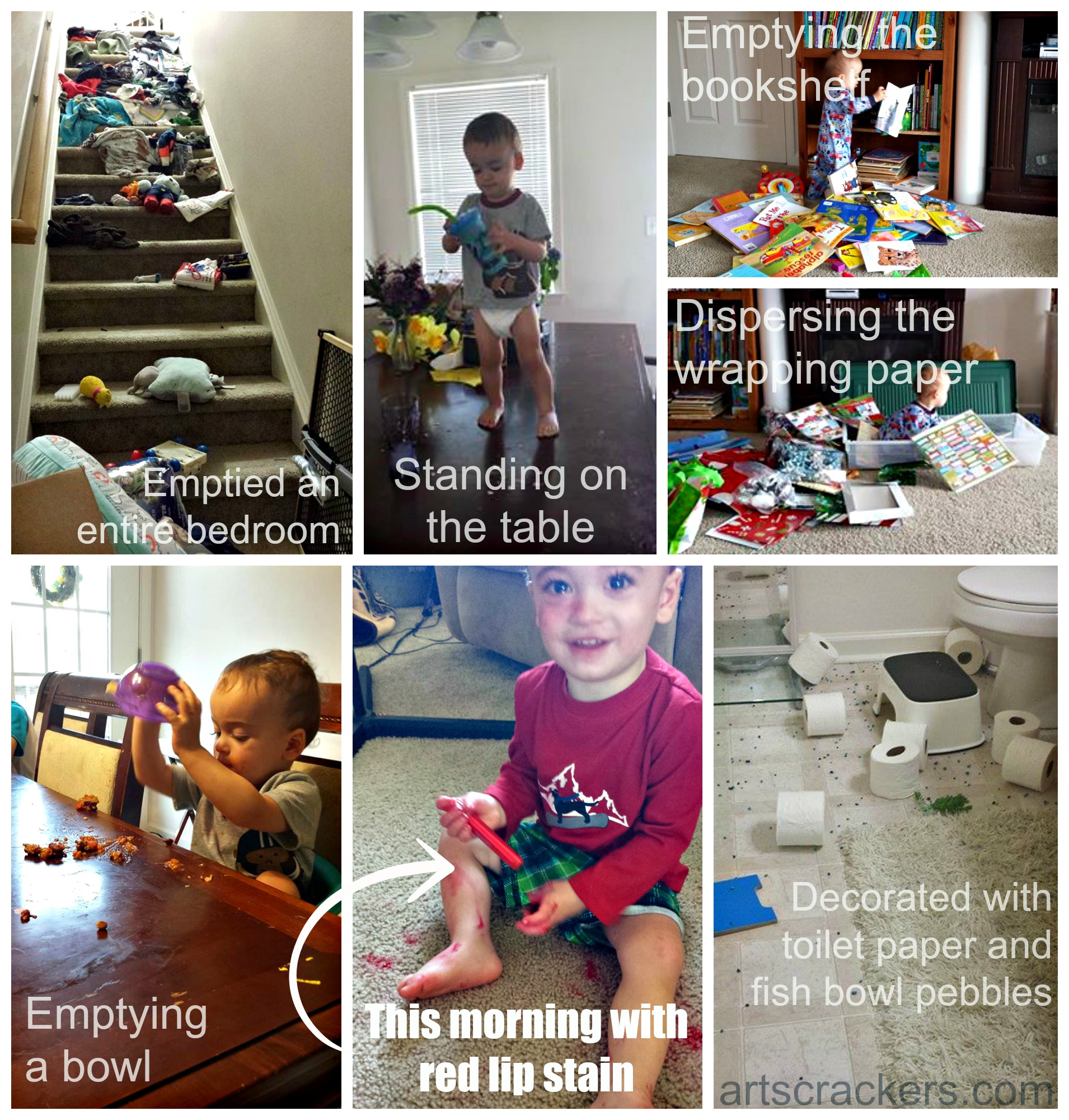 Trainable Twos Collage