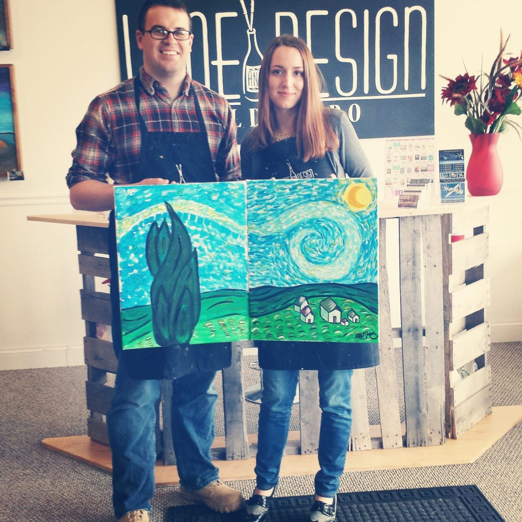 Canvas Painting Class Date