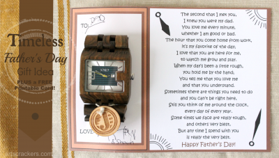 JORD Timeless Father's Day Gift Idea
