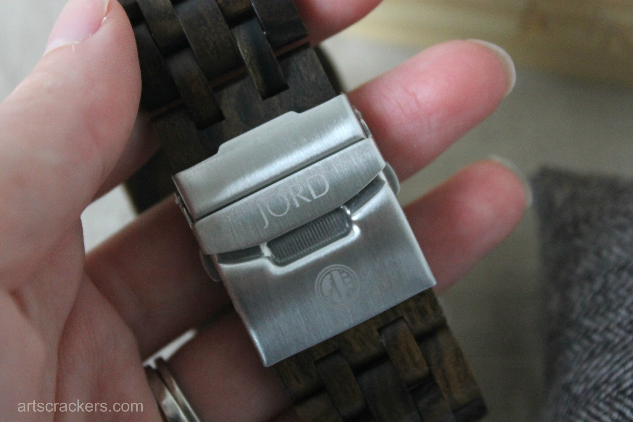 JORD Wood Wrist Watch Clasp