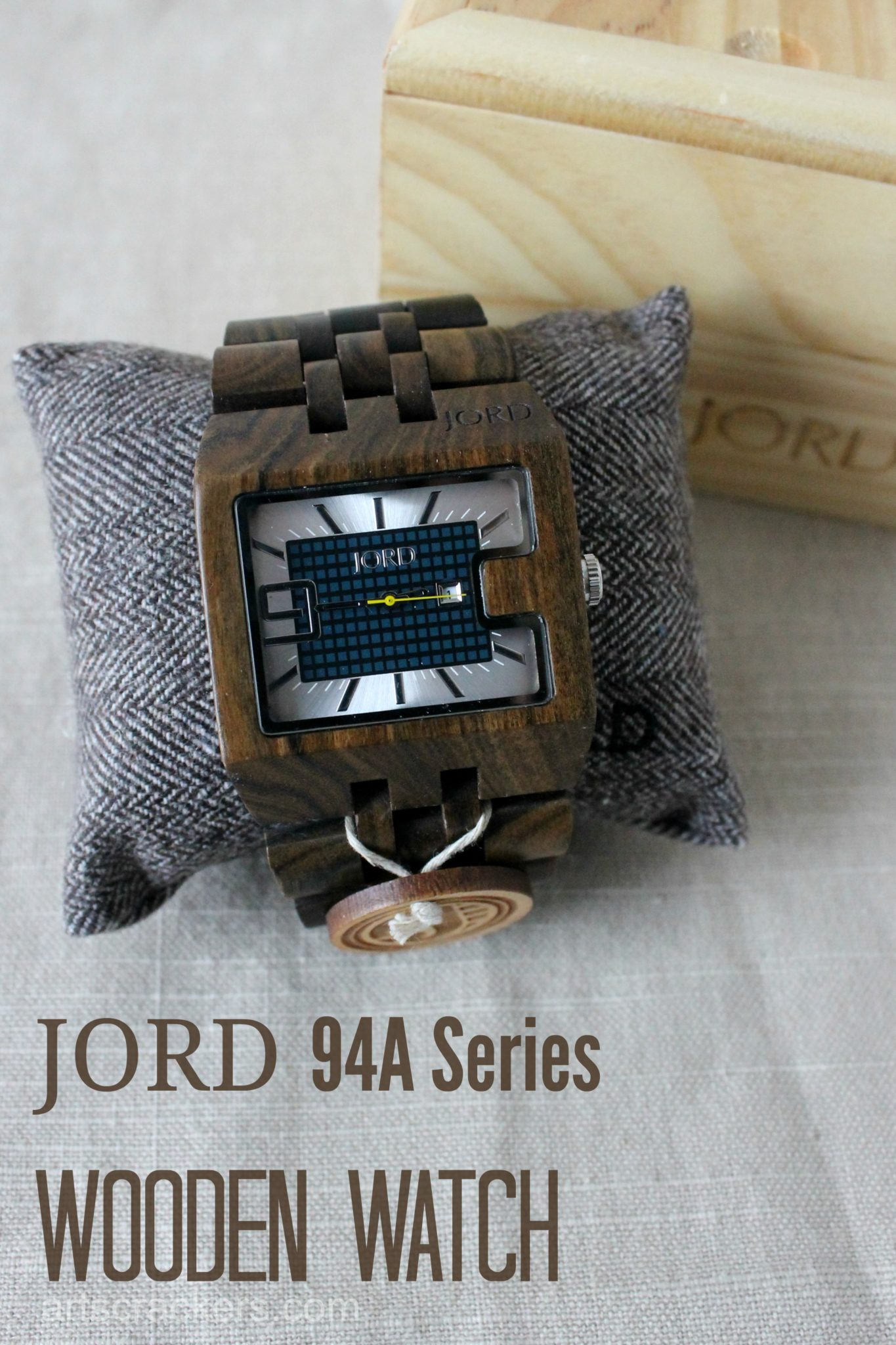 JORD Wooden Watch 94A Series Chocolate
