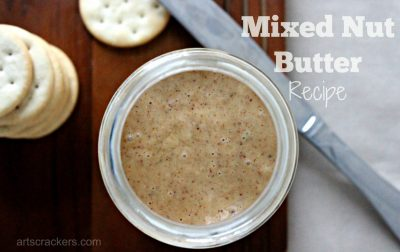 Mixed Nut Butter Recipe. Click the picture to get the recipe.