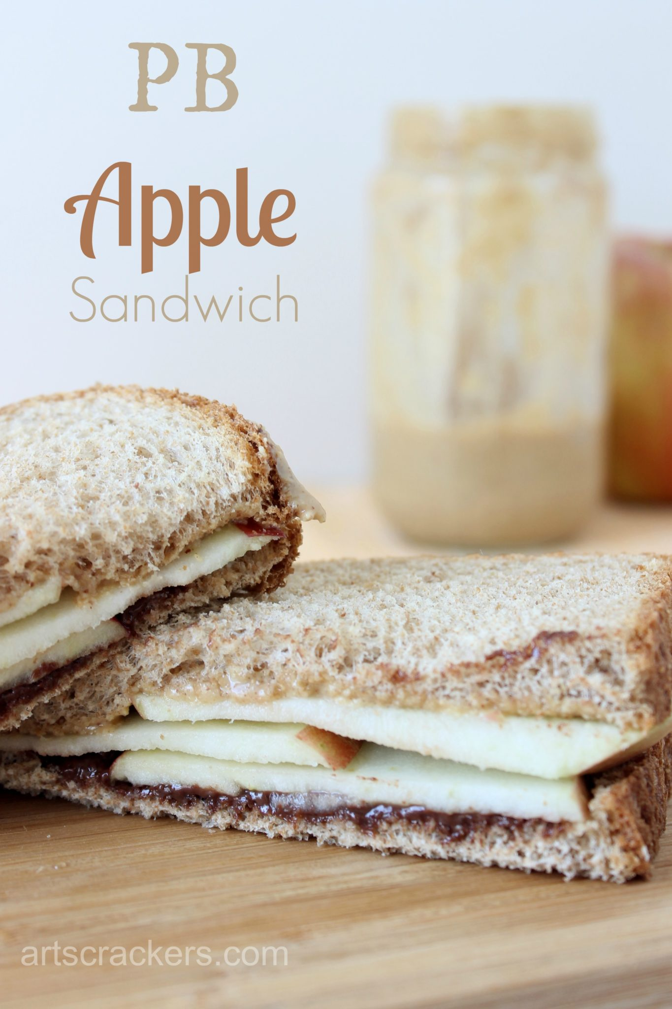 PB Apple Sandwich Kid Made Foods. Click the picture for the recipe.