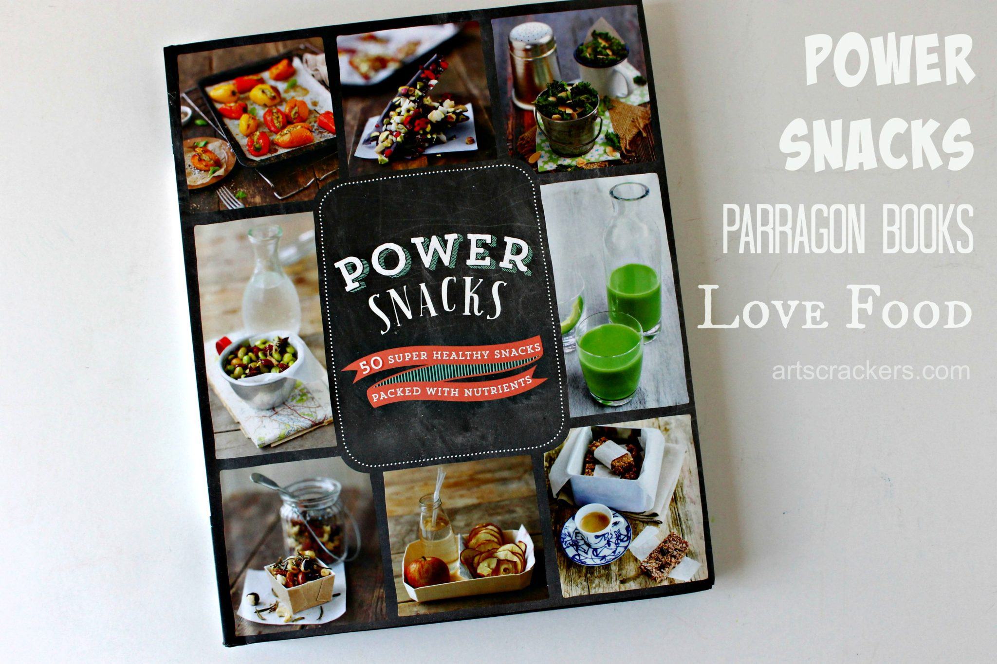 Power Snacks Parragon Books. Click the picture to read the review.