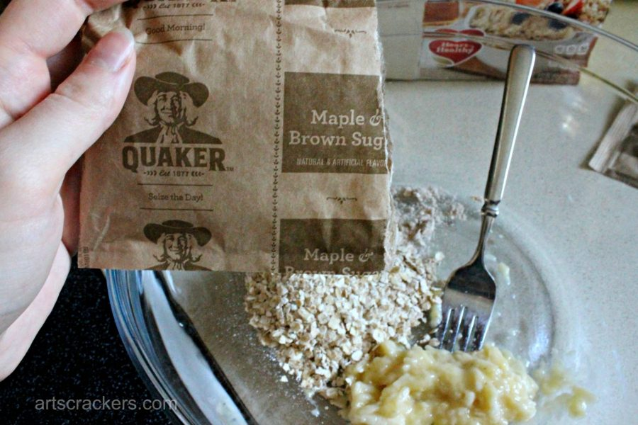 Easy Quaker Instant Oatmeal Pancakes Step 2