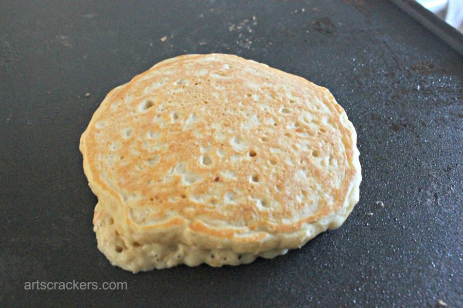 Easy Quaker Instant Oatmeal Pancakes Step 6