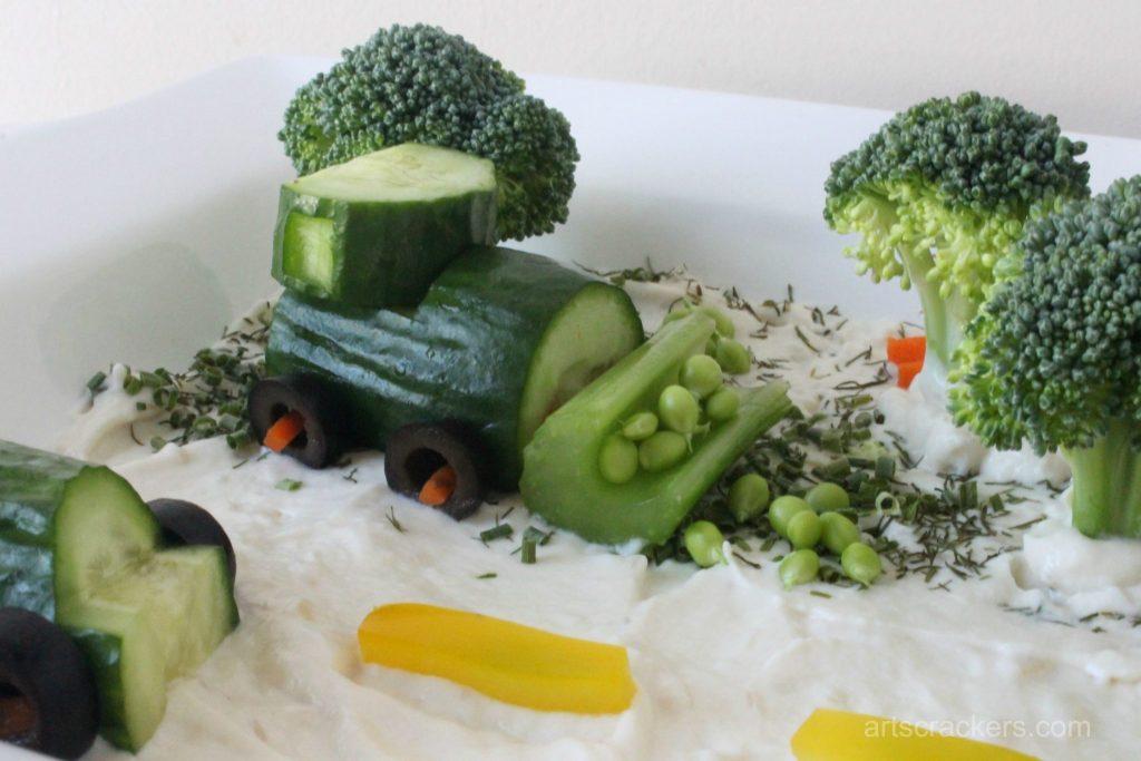 Eat Your Veggies Vehicles Tractor