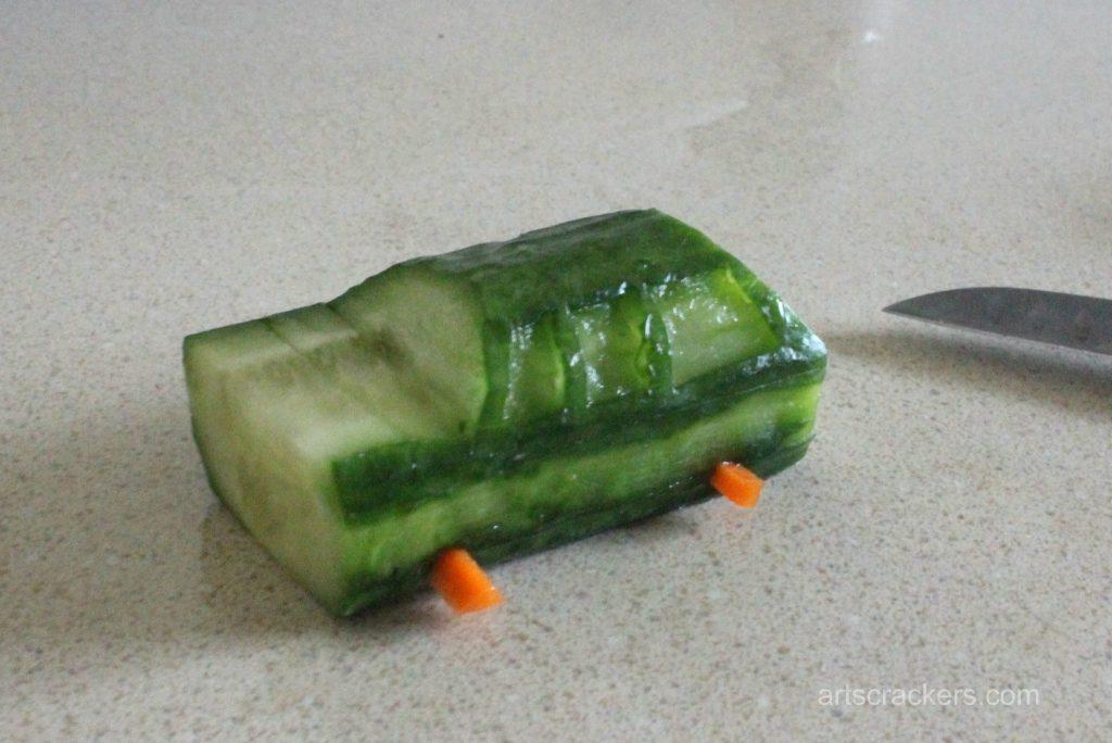 Eat Your Veggies Vehicles Wagon Step 2