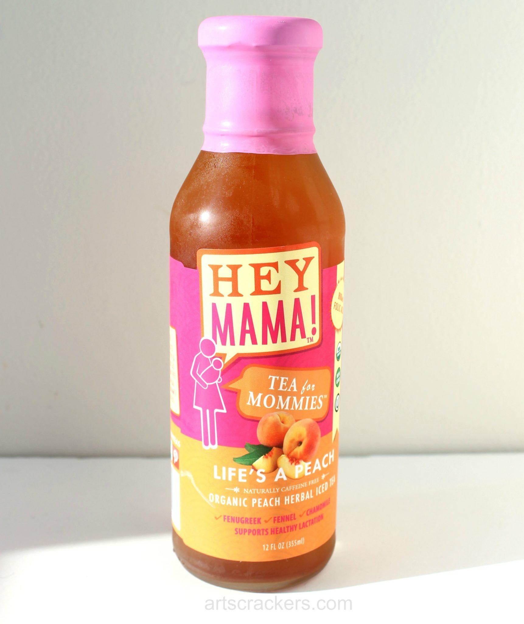 Hey Mama Teas Lifes a Peach