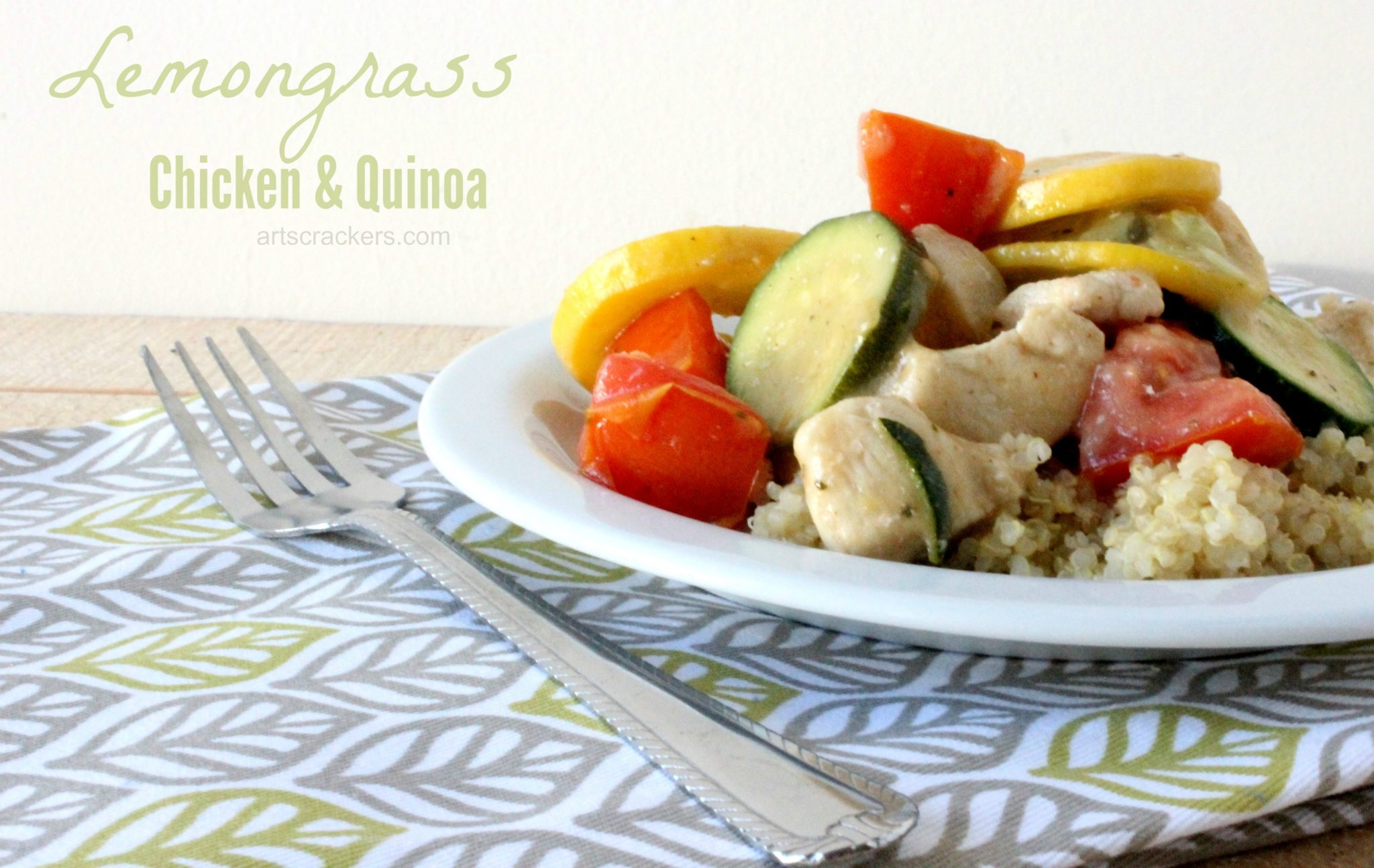 Lemongrass chicken quinoa recipe for Art cuisine cookware reviews