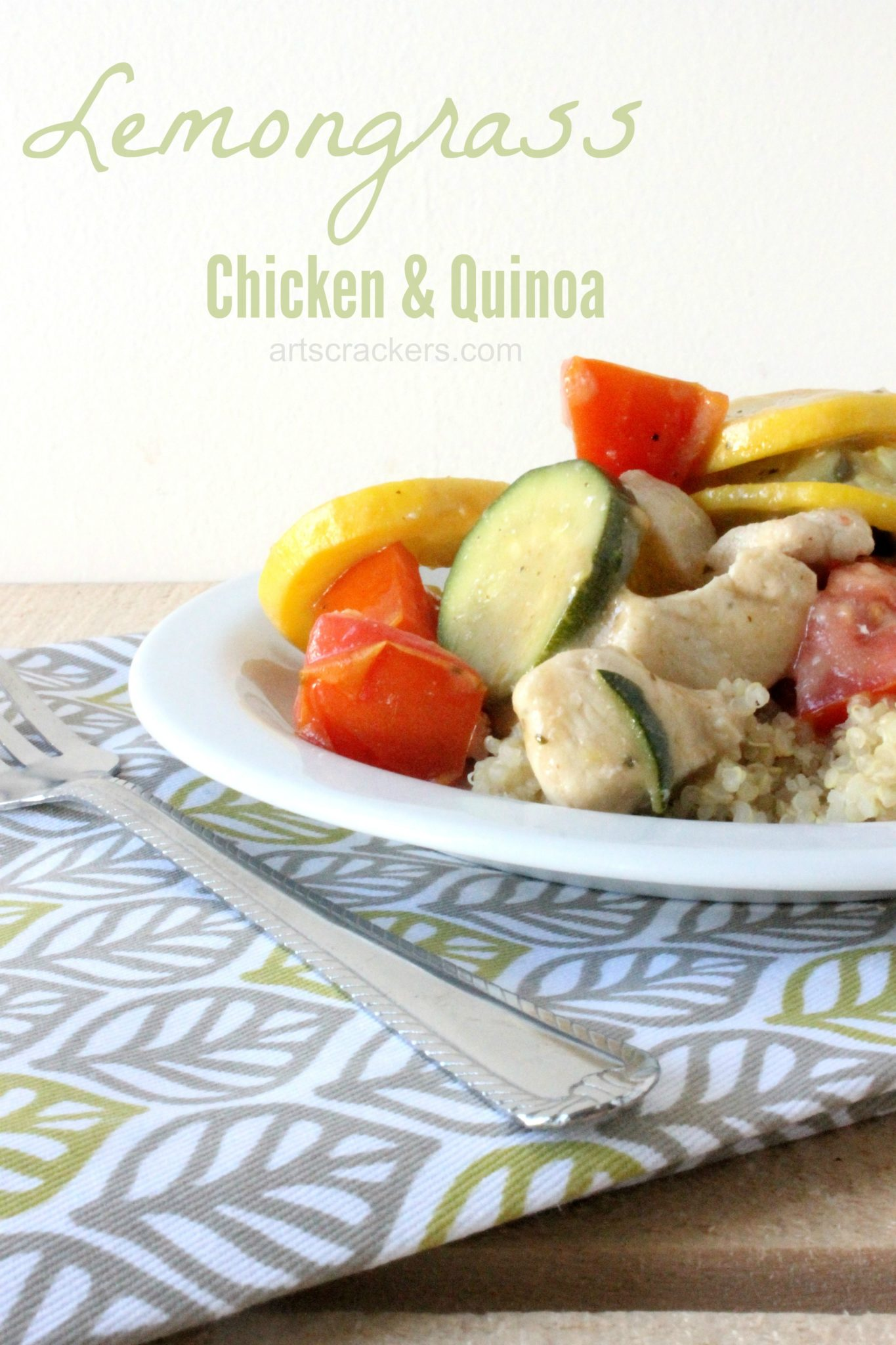 Lemongrass and Basil Chicken and Quinoa