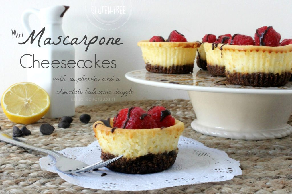 Gluten Free Mini Mascarpone Cheesecakes Gluten Free