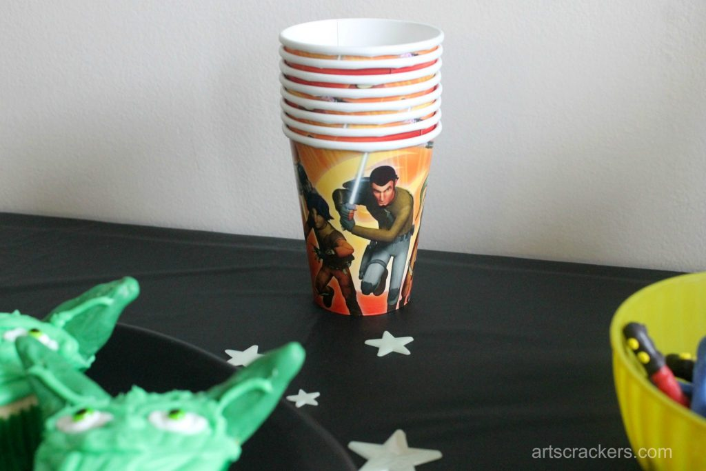 Star Wars Rebel Party Cups