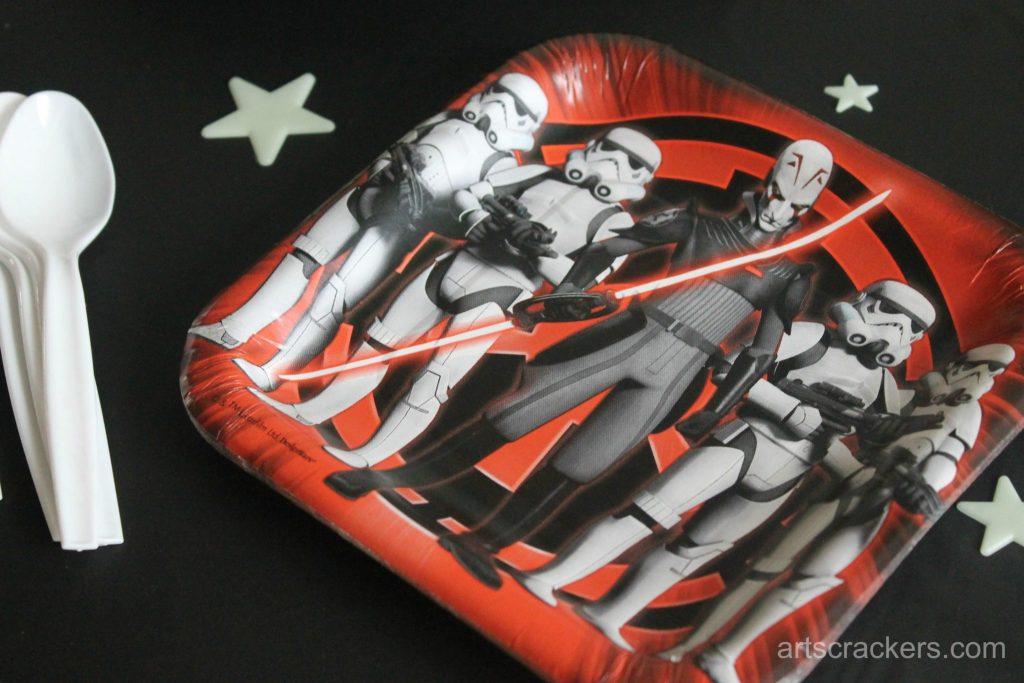 Star Wars Rebel Party Dessert Plates