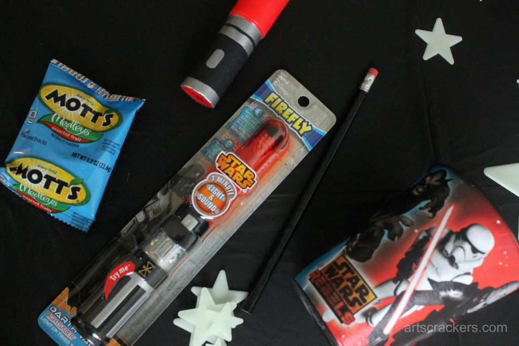 Star Wars Rebel Party Favor Contents