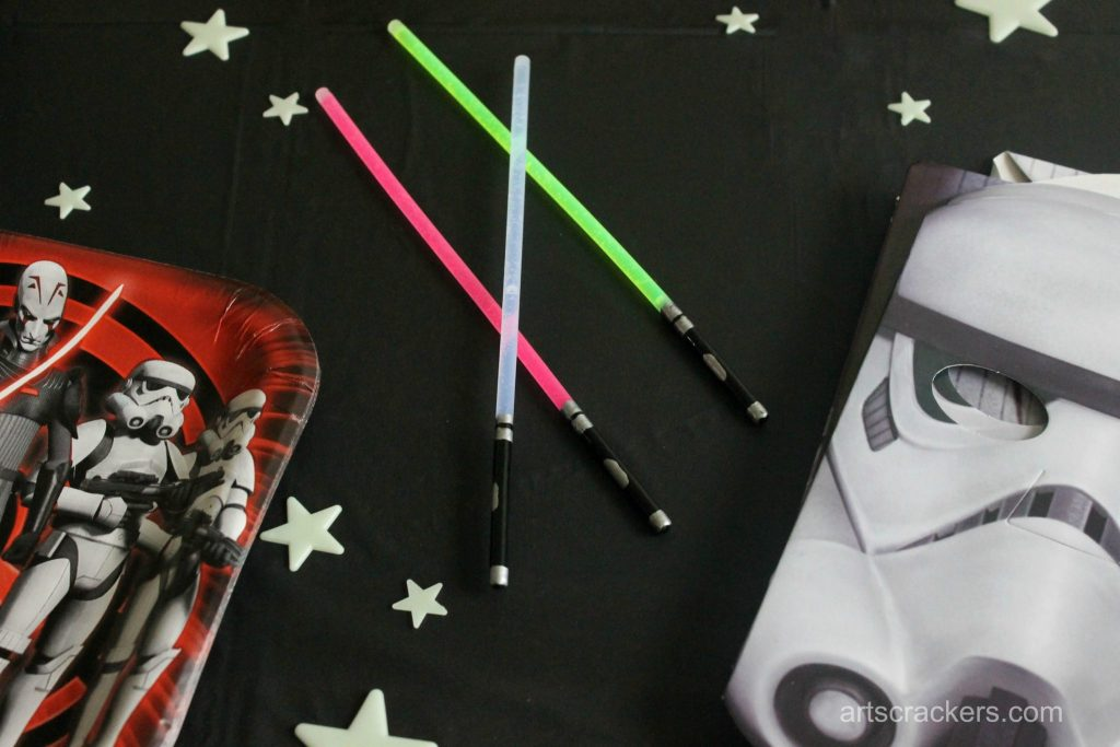 Star Wars Rebel Party Lightsaber Glowsticks
