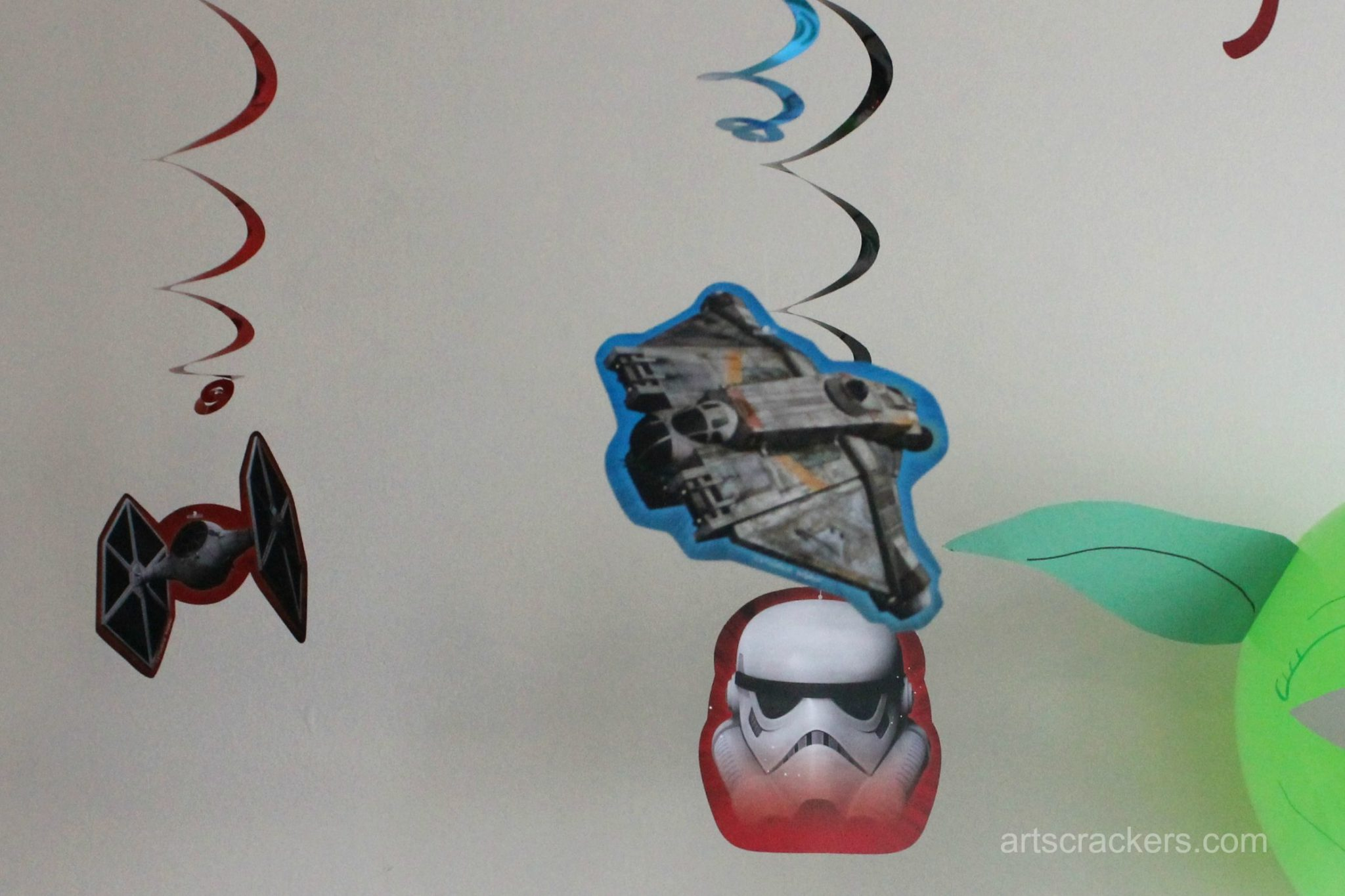Star Wars Rebel Party Swirl Decor