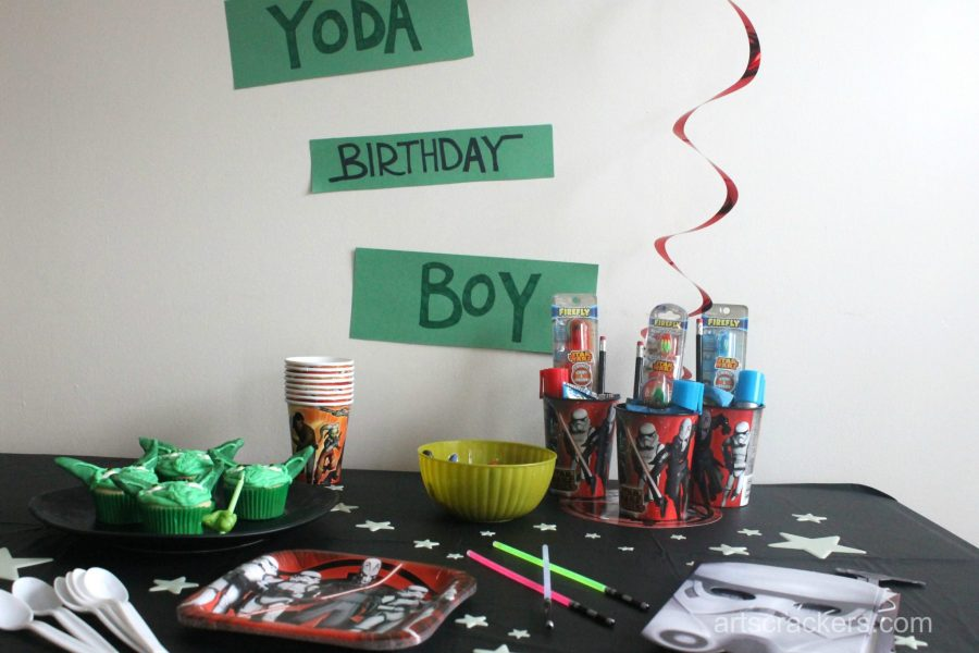 Star Wars Rebel Party Tablescape