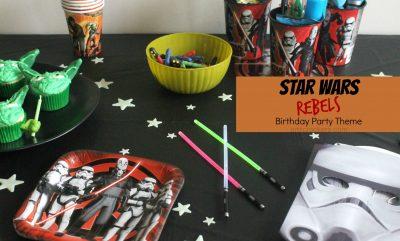 Star Wars Rebels Birthday Party