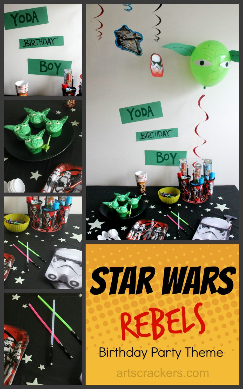 Star Wars Rebels Birthday Party Theme