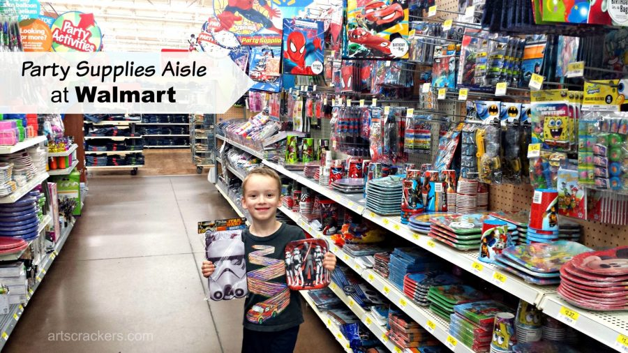 Star Wars Rebels Party Supplies Aisle Walmart