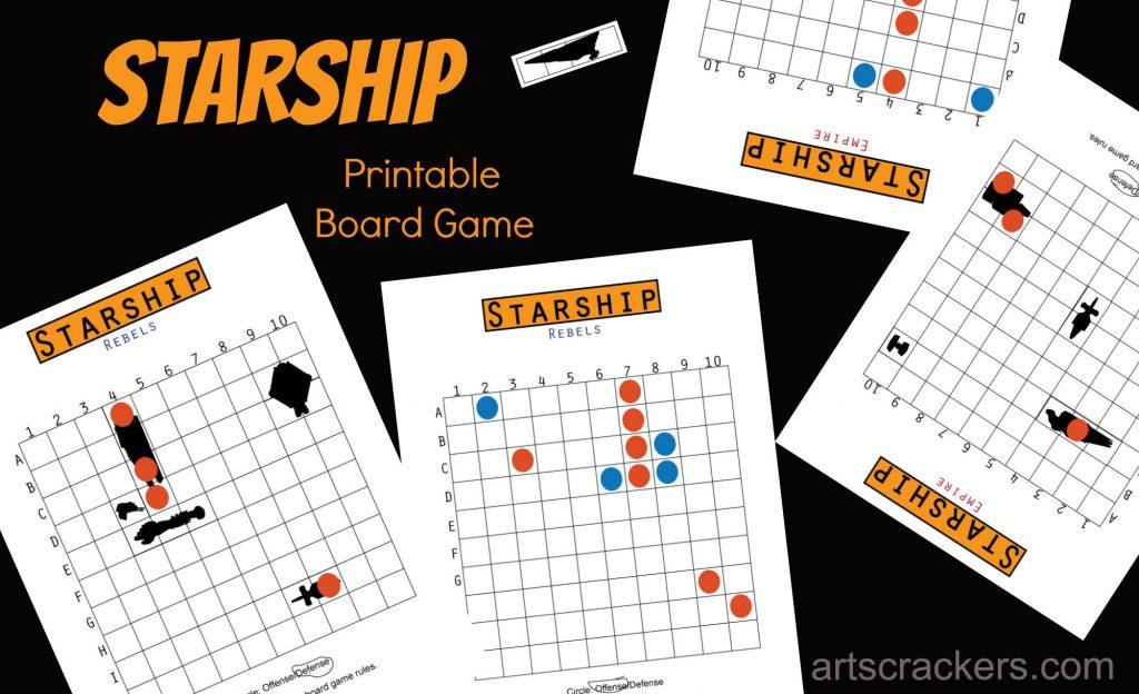 Starship Board Game Printable