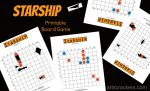 Starship Star Wars-Themed Printable Board Game
