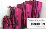 Summer Vacation Packing Tips | Utilize Your Smartphone