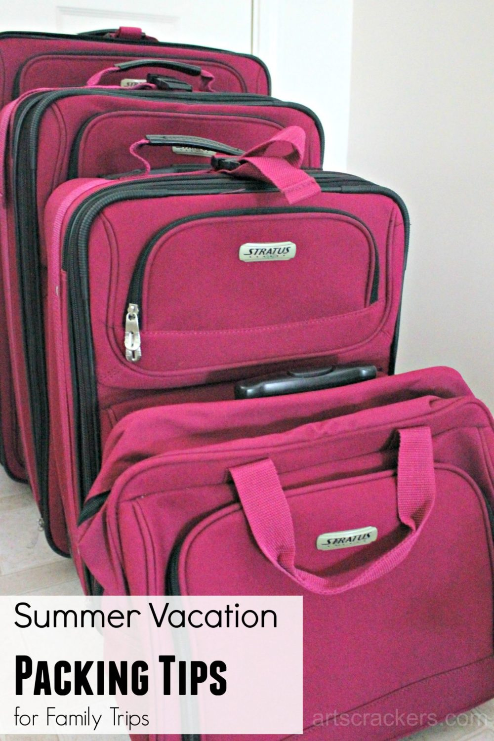 Summer Vacation Packing Tips for Family Trips