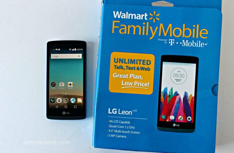 Walmart Family Mobile LG Leon LTE