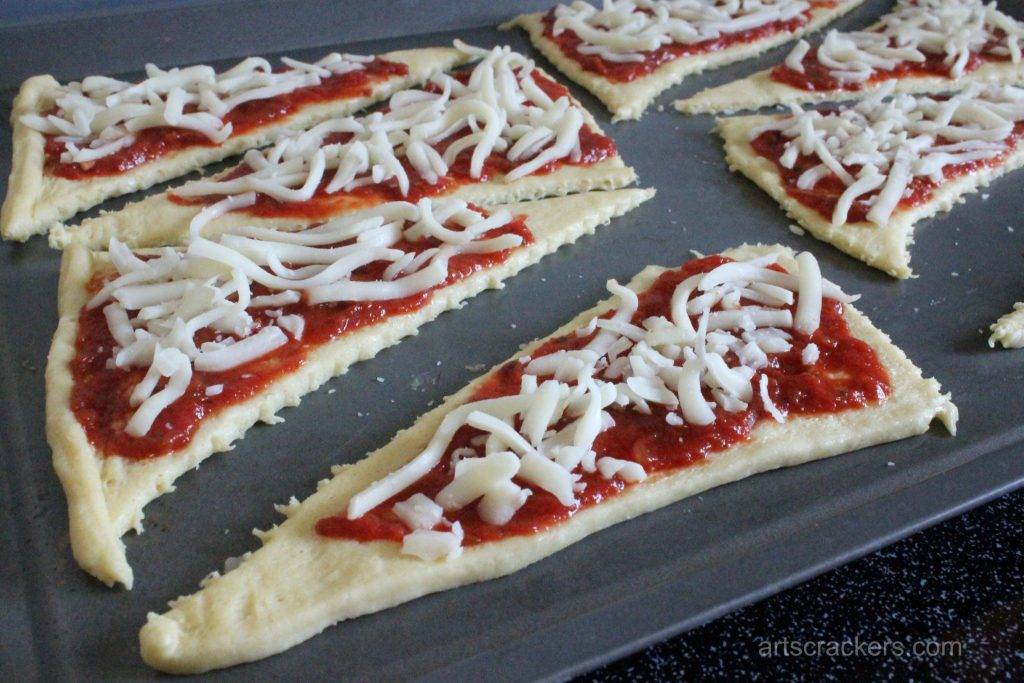 Crescent Calzone Pizzas Step 3